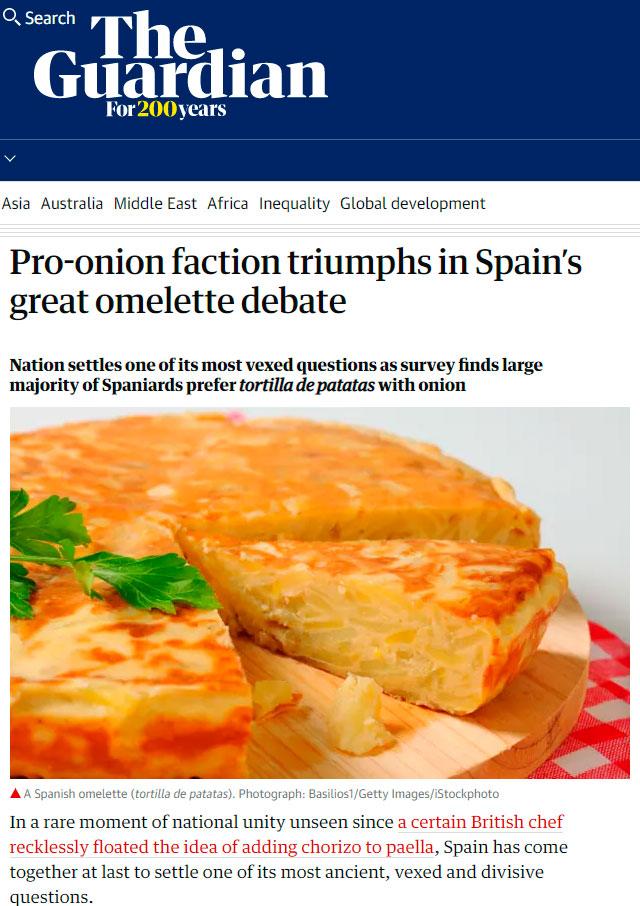 La victoria concebollista en España traspasa fronteras
