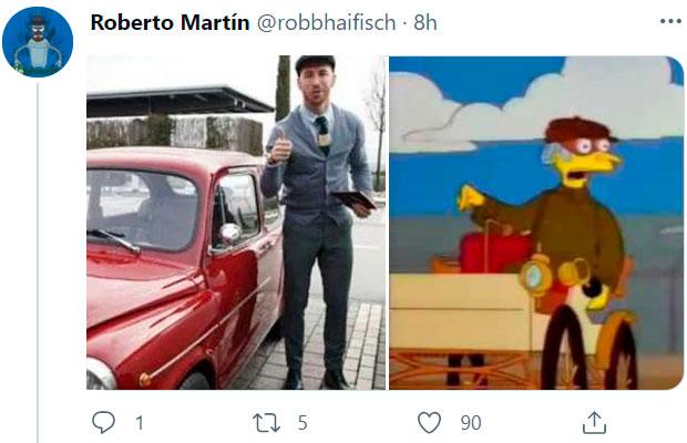 ¿Es Sergio Ramos el Señor Burns?