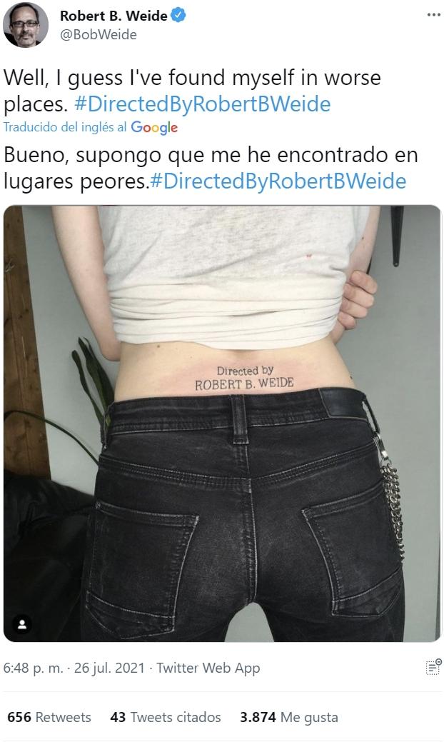 Robert B. Weide approves