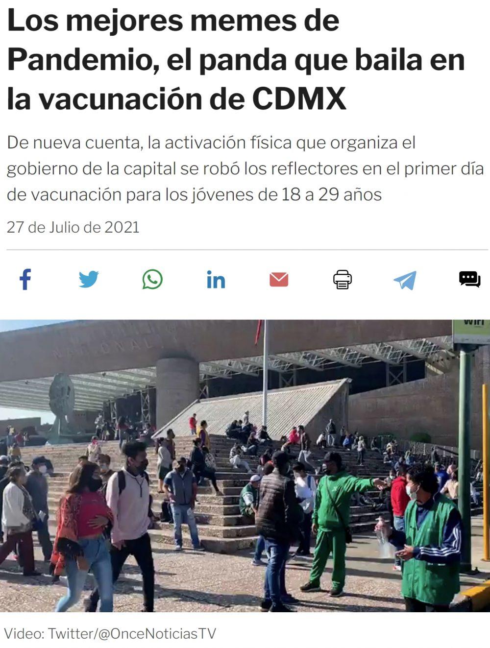 Panda Pandemio: La nueva mascota de México contra la pandemia