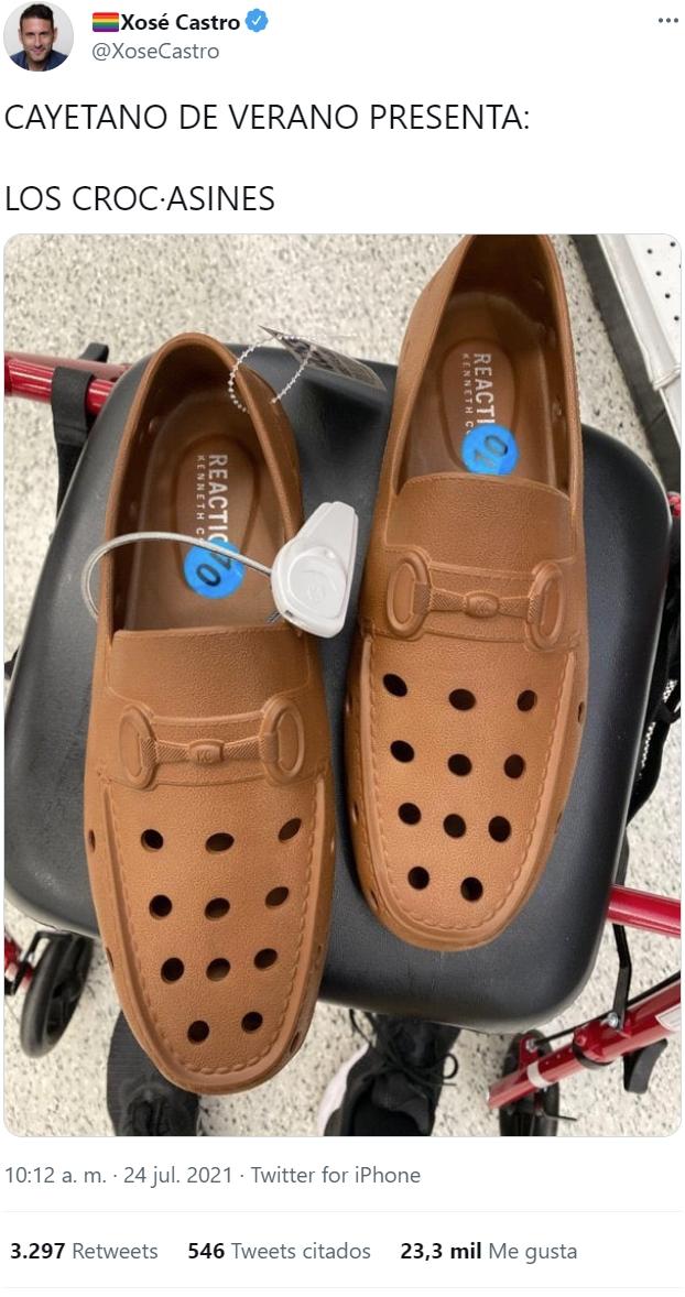 Puede que estemos ante el calzado más aberrante de todos los tiempos...
