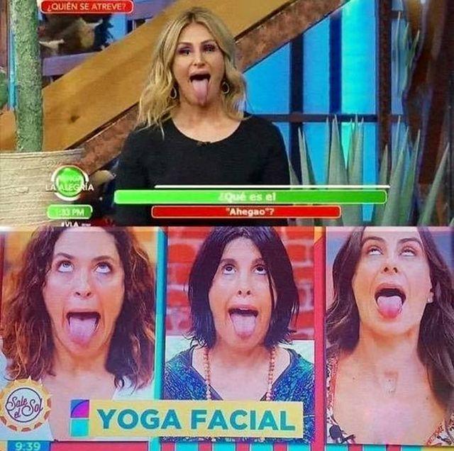 """""""Yoga facial"""""""