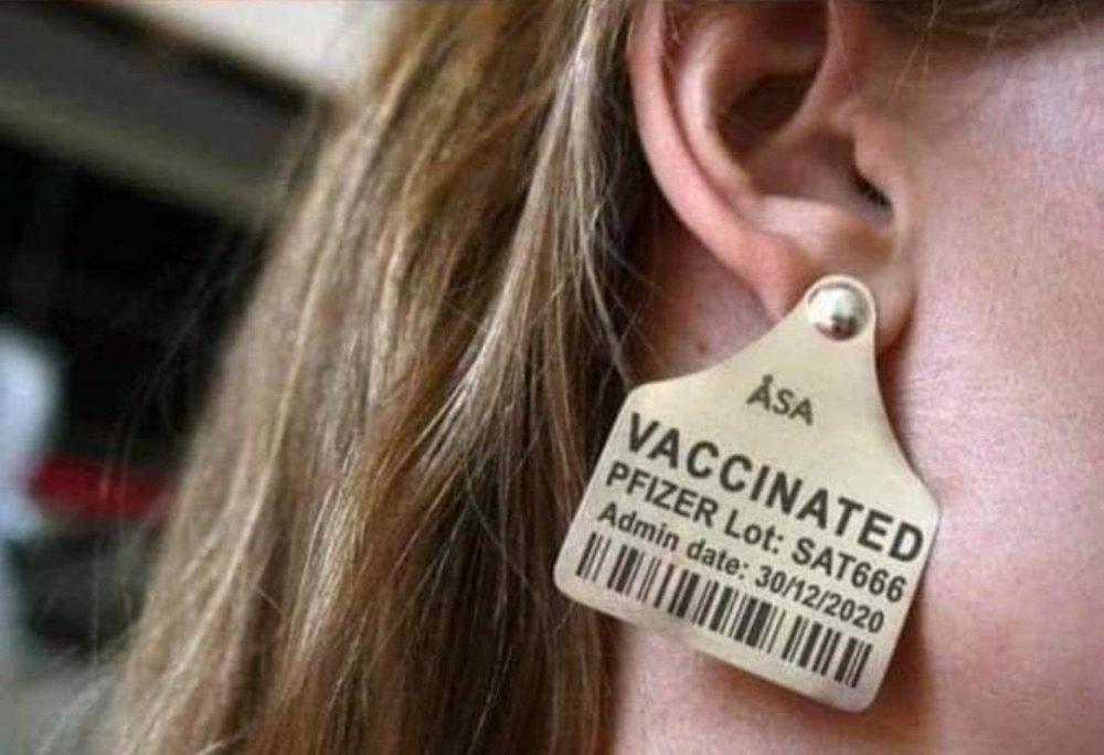 """¿Te pondrías un """"pendiente"""" para que la gente vea a simple vista que estás vacunado?"""
