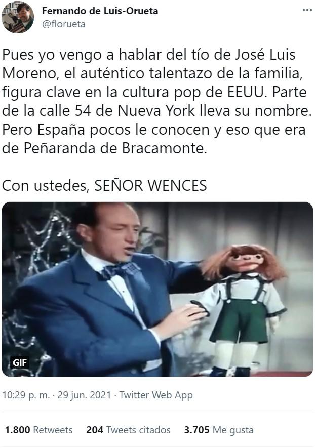 Señor Wences: El tío de Jose Luis Moreno que triunfó en EEUU y hasta tiene una calle en Nueva York con su nombre