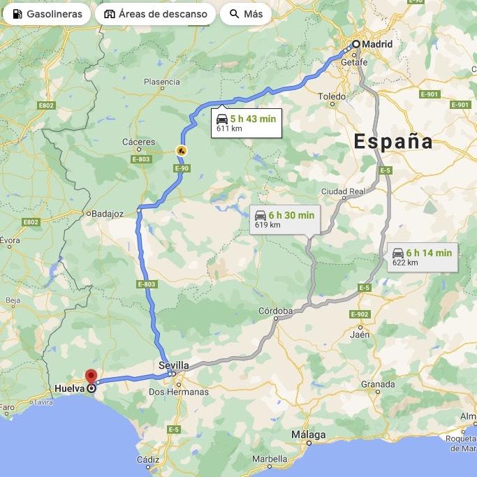 Cuidado que ha crecido Madrid. En nada nos plantamos en el estrecho y le ponemos sitio a Gibraltar.