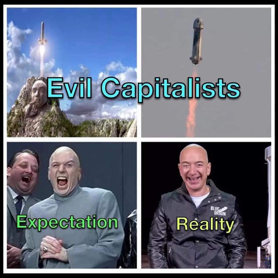 ¿Es Jeff Bezos el Doctor Maligno?