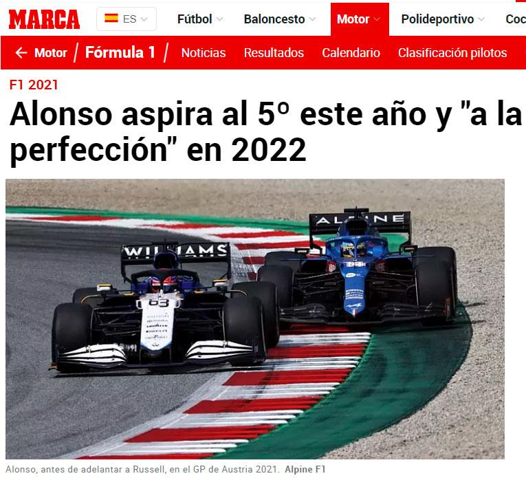 Alonso busca revalidar el título. ¿De campeón? No no...