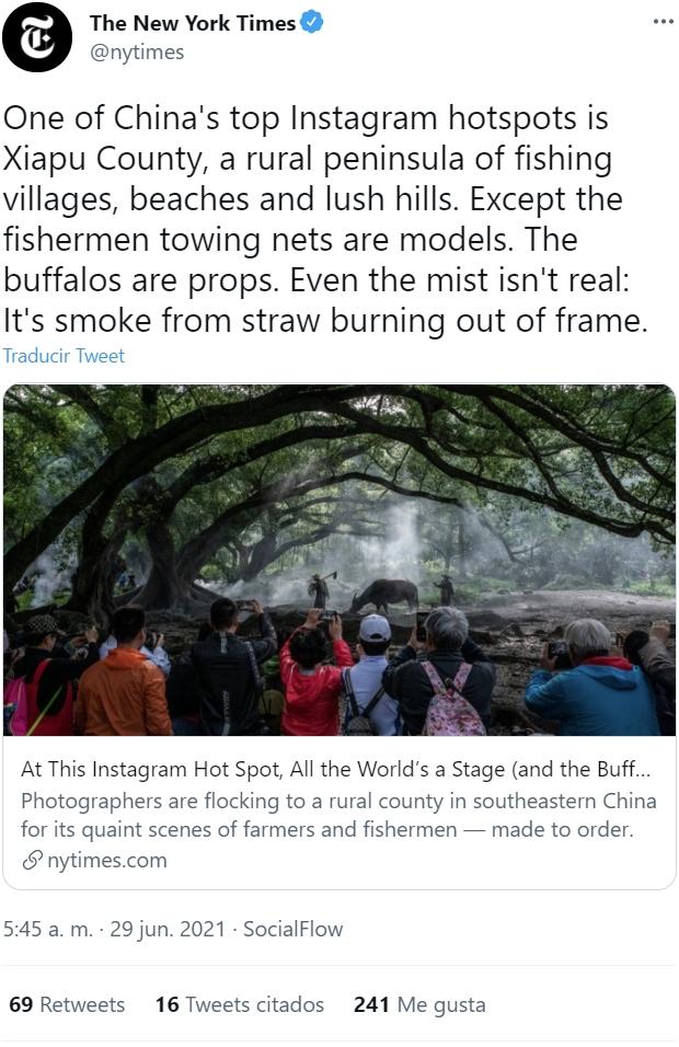 Un pueblo fake para posturear en Instagram: China ha entendido cómo funciona el turismo en el siglo XXI