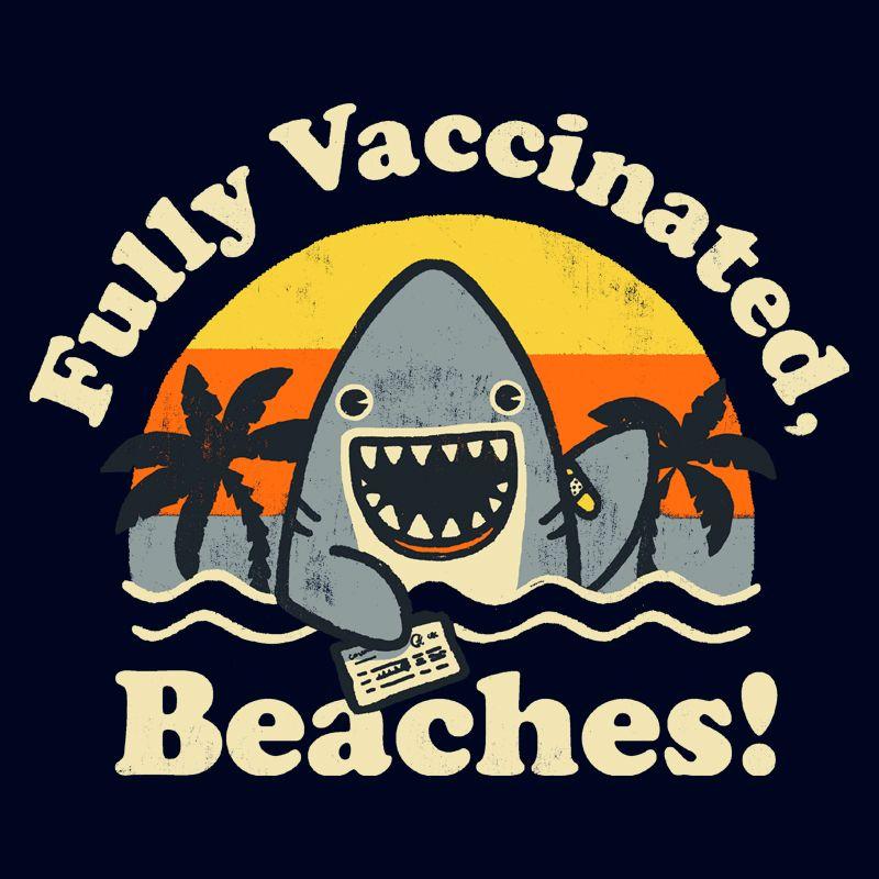 "Camiseta ""Fully Vaccinated Beaches!"""