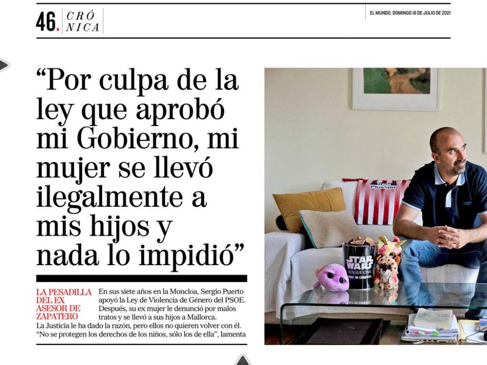 La pesadilla del ex asesor del presidente Zapatero: Acabó sufriendo en carne propia la pérdida de sus hijos por una ley que él apoyó