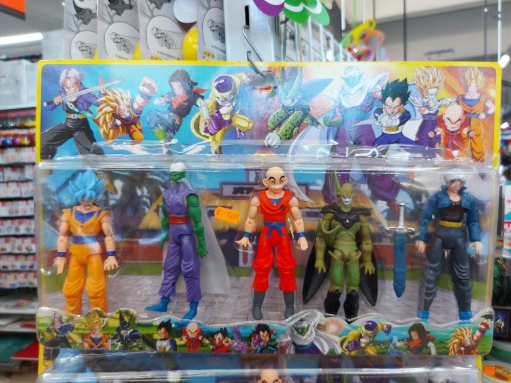 Parece que Krillin se ha hecho fabricante de juguetes de Dragon Ball