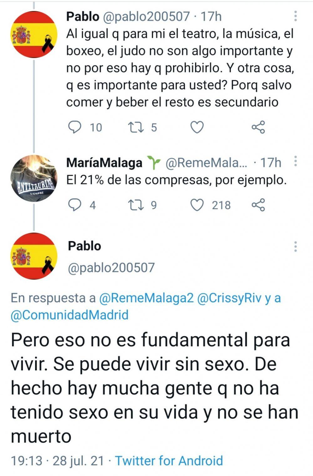 Pablo, experto en mujeres.
