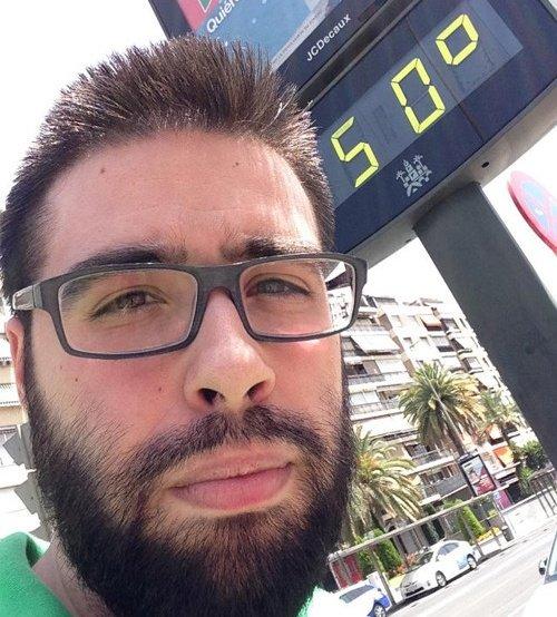 Yo ayer andando por Murcia a las 3pm...