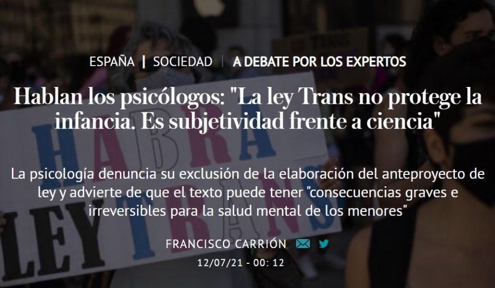Maldita ciencia transfóbica...
