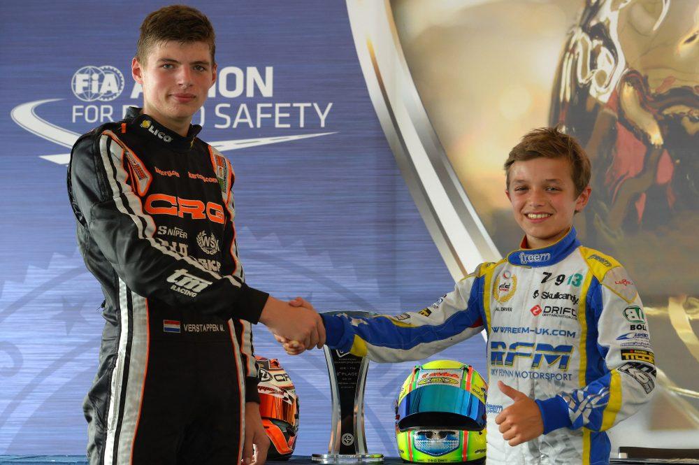 La primera línea de salida hoy en F1: Verstappen y Lando Norris