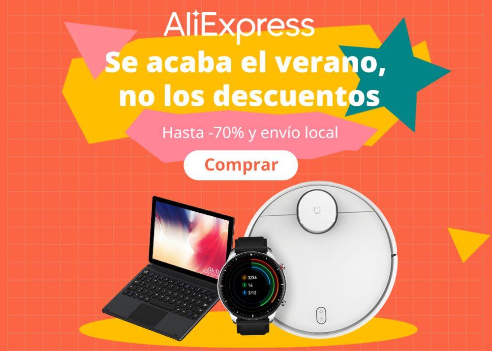 Más artículos golosones rebajados en AliExpress