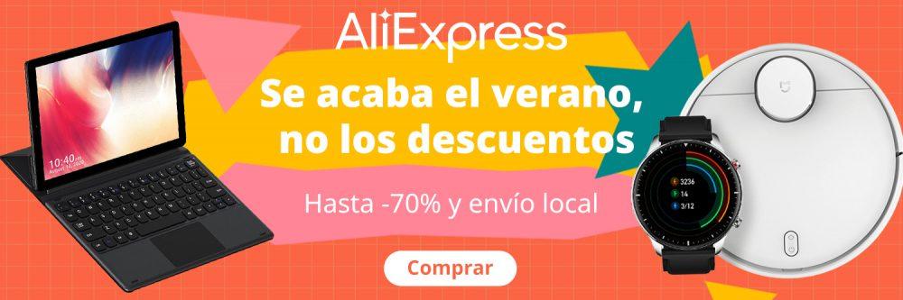 Más ofertas en esta semana de descuentos de AliExpress