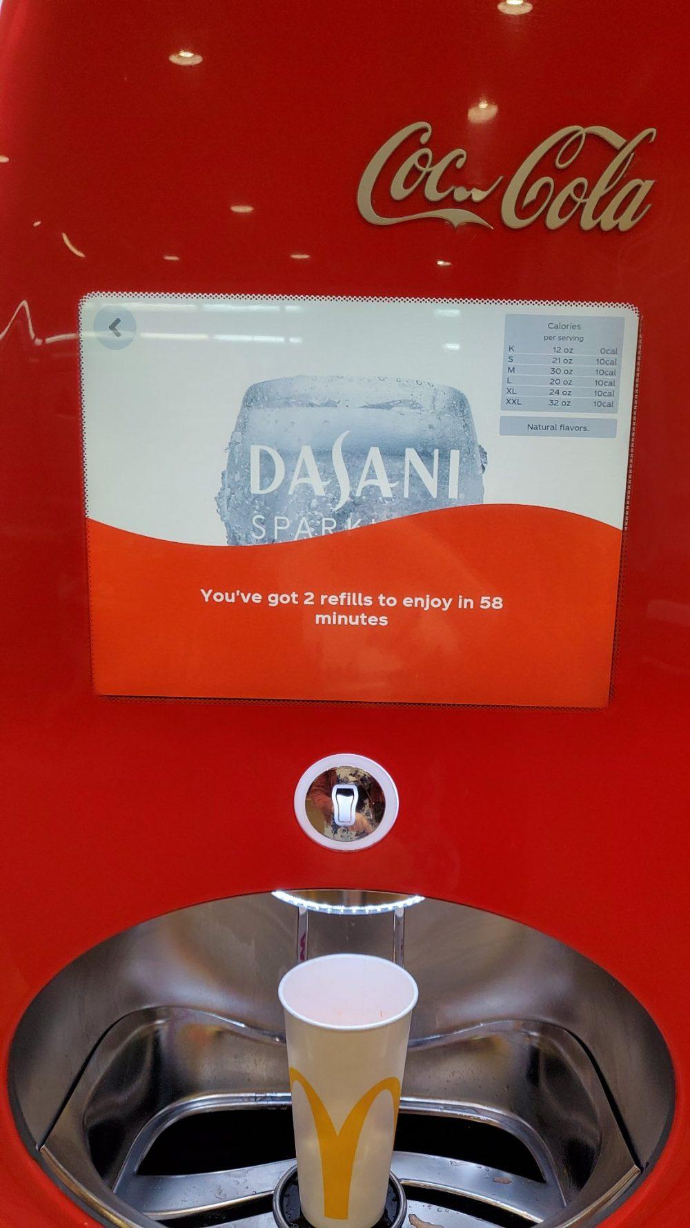 Nuevo DRM que evita gorronear en los dispensadores de bebidas en autoservicio