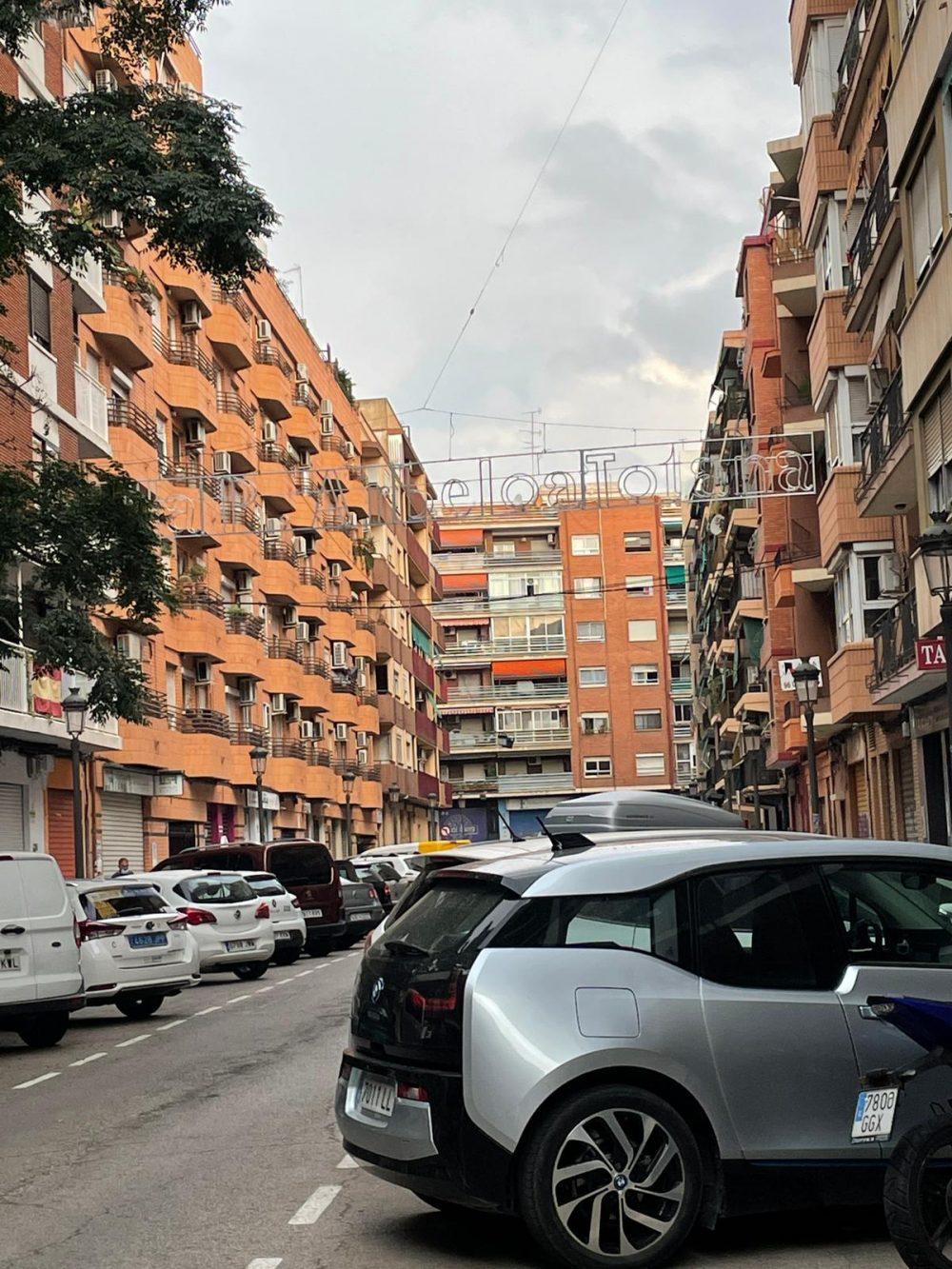 Homenaje a los conos en Valencia