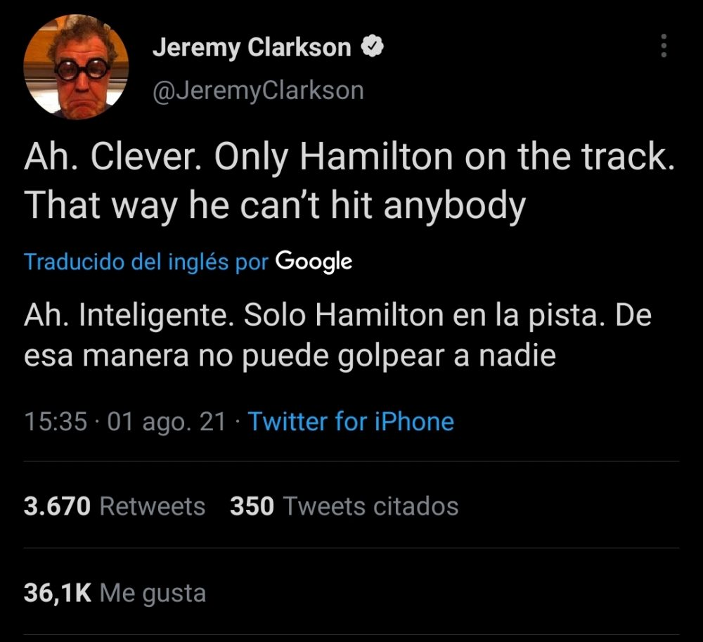 Jeremy Clarkson también se rinde ante Magic Alonso