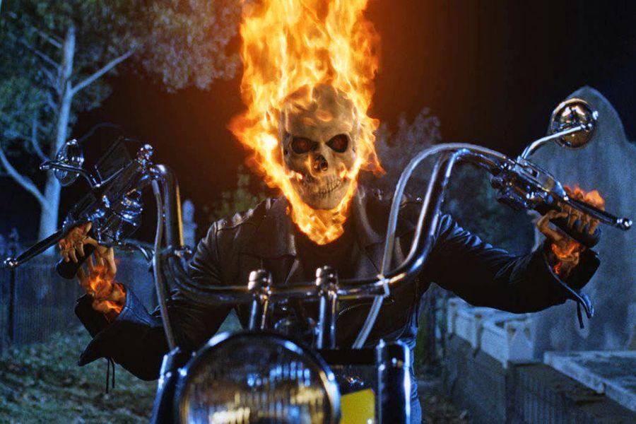 Ghost Rider anda por Fuenlabrada