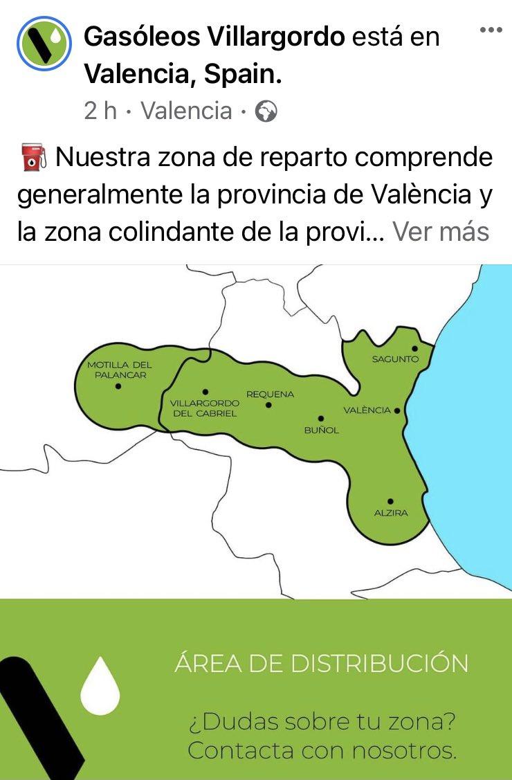 La cobertura de reparto de Gasóleos Villagordo es cojonuda
