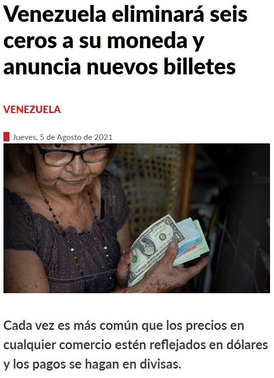 Cosas que pasan cuando una barra de pan cuesta 1.000.000 bolívares