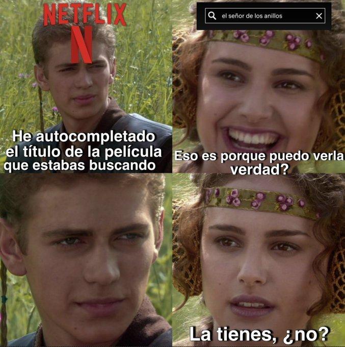Netflix... es usted diabólico...