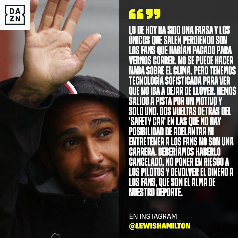 """Fernando Alonso sobre el reparto de puntos sin haber corrido la carrera: """"Un show"""""""