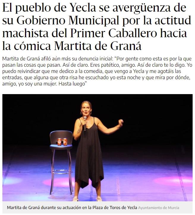 """Una monologuista abandona el escenario después de que un espontáneo gritase """"no tenéis gracia"""""""