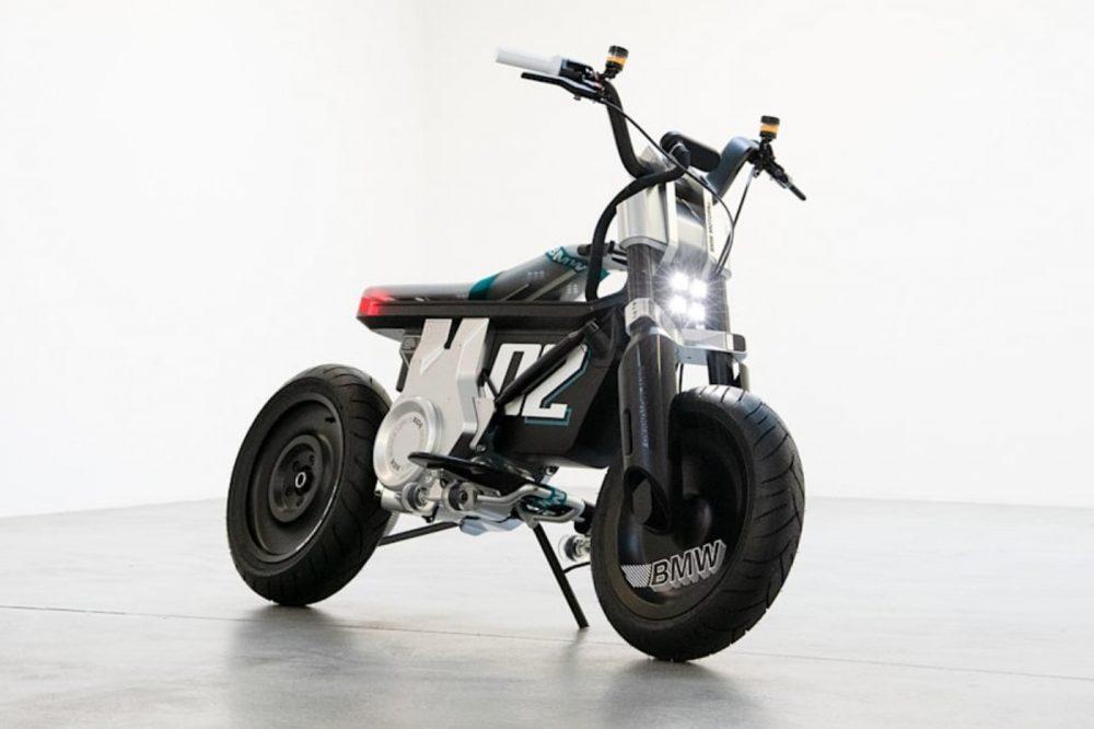 BMW lanza un prototipo de moto 100% eléctrica, que no es ni una moto ni una scooter