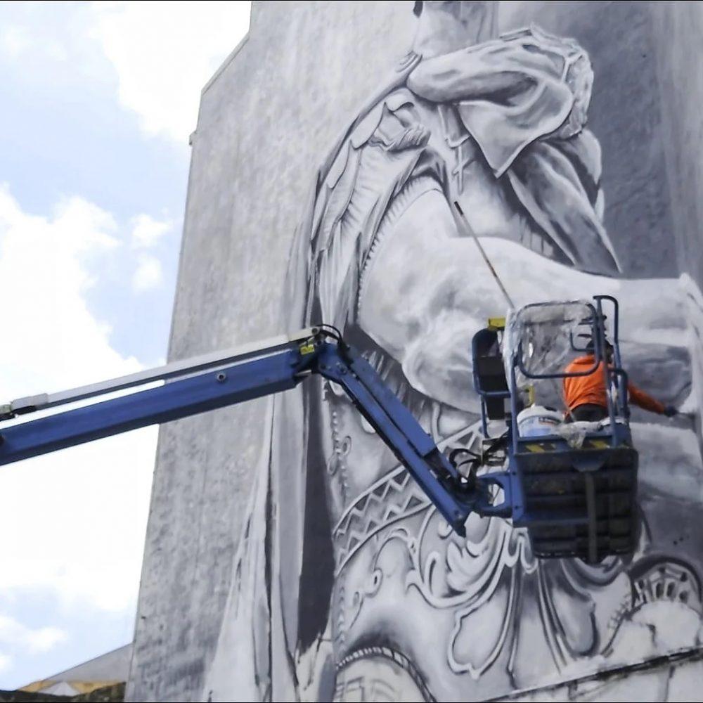 El Julio César de Diego As, escogido el mejor grafiti del mundo en agosto