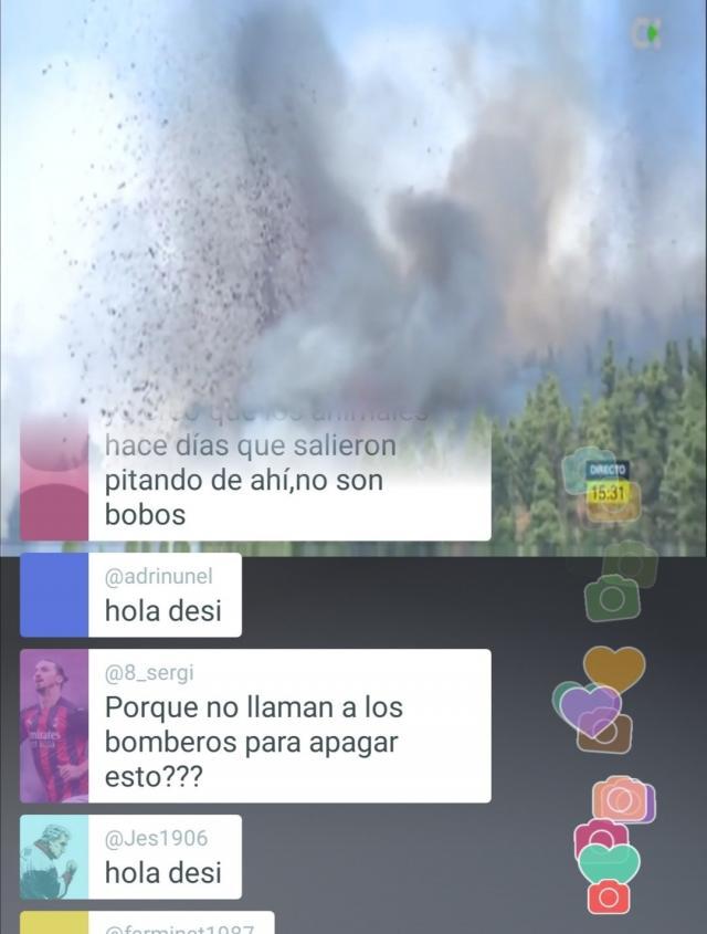 Un nuevo volcán acaba de entrar en erupción en La Palma