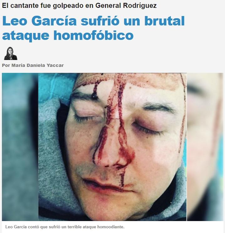 Página afín al Gobierno Argentino: