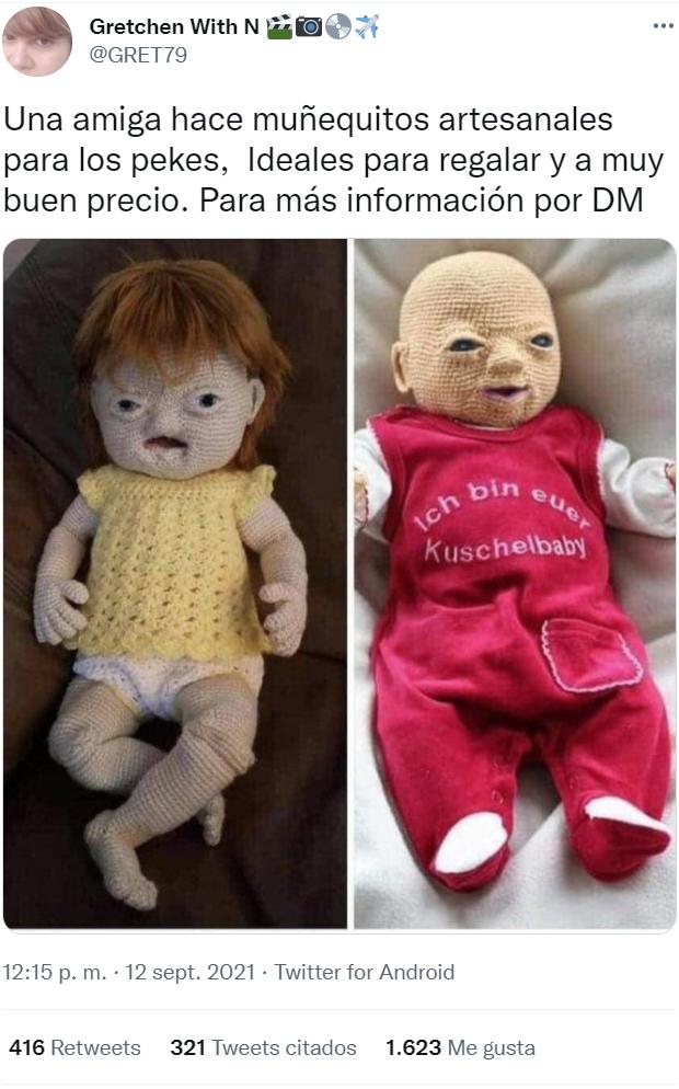 Traumatiza a tus hijos para siempre con estos muñecos artesanales