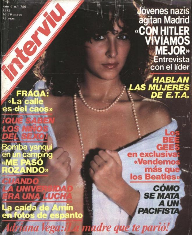 Portada de Interviú de 1979