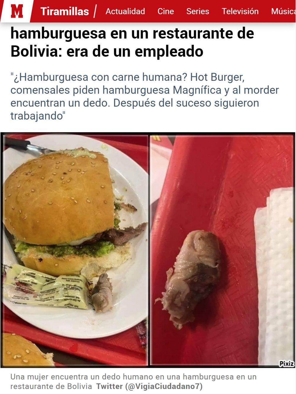 McBoliviano con extra de carne: ¿Hay hambre?