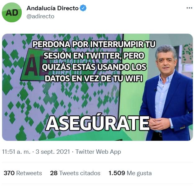 Andalucía Directo: renovarse o morir
