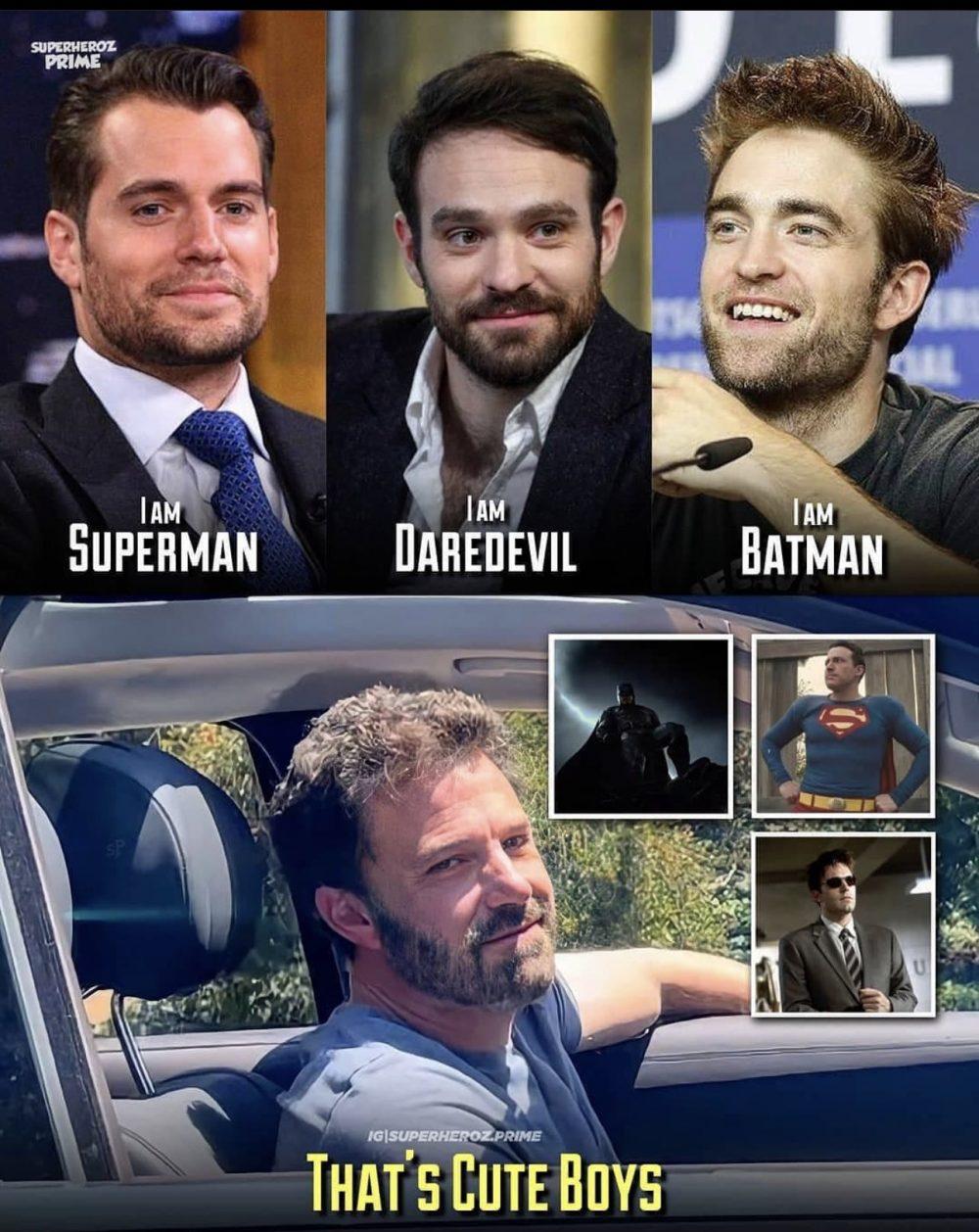 ¿Qué tienen en común Superman, Daredevil, y Batman?