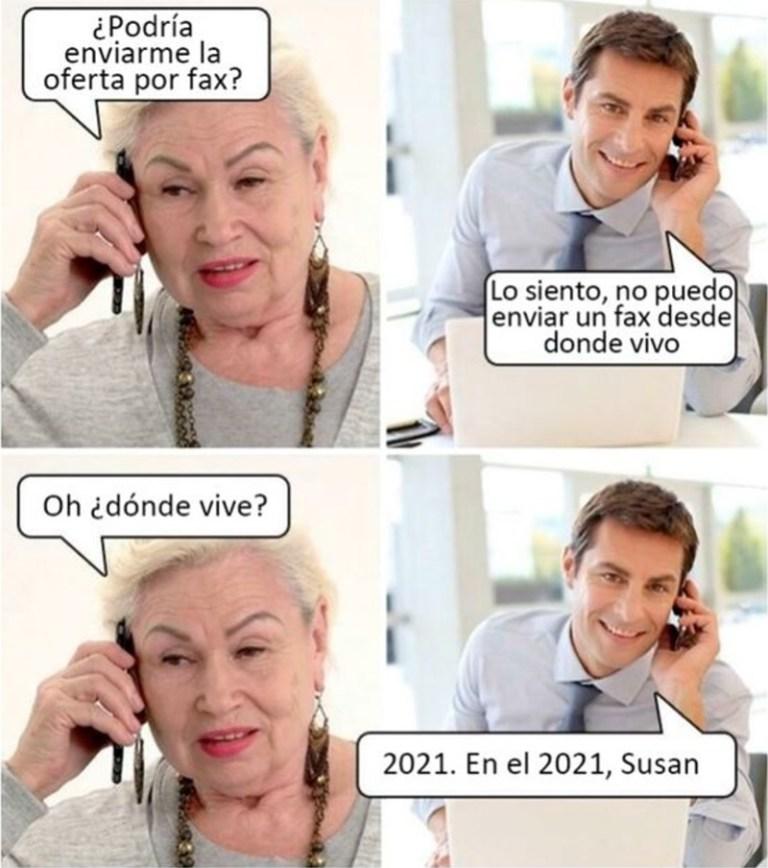 Susan, espabila