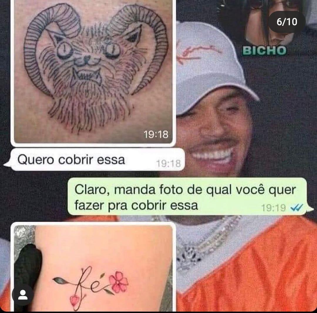 - Quiero cubrir este tatuaje