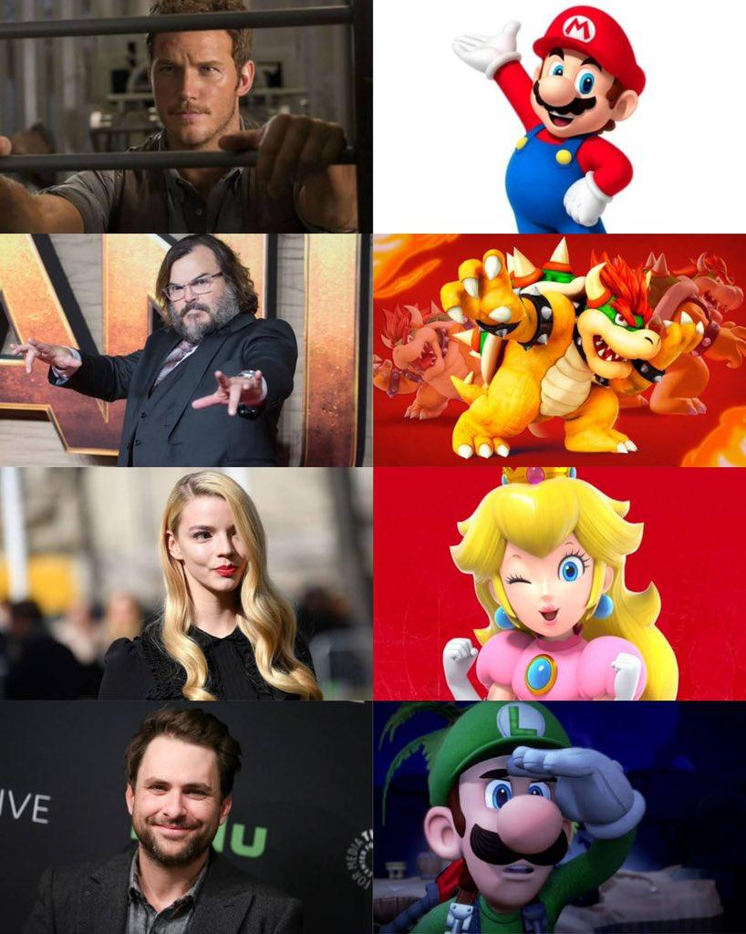 Hasta ahora, Charles Martinet era la voz de Mario