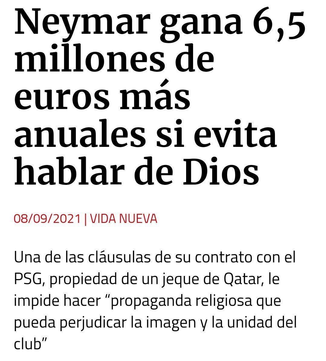 AVARICIA: 6,5 millones por cometer un pecado.