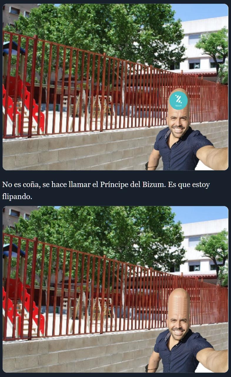Por cada 5 likes, la frente de Juanfran Escudero crece.
