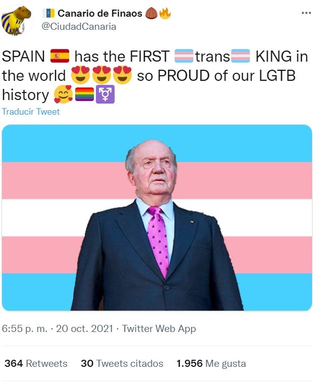 - Juan Carlos, ¿Es verdad que te inyectaron hormonas femeninas?