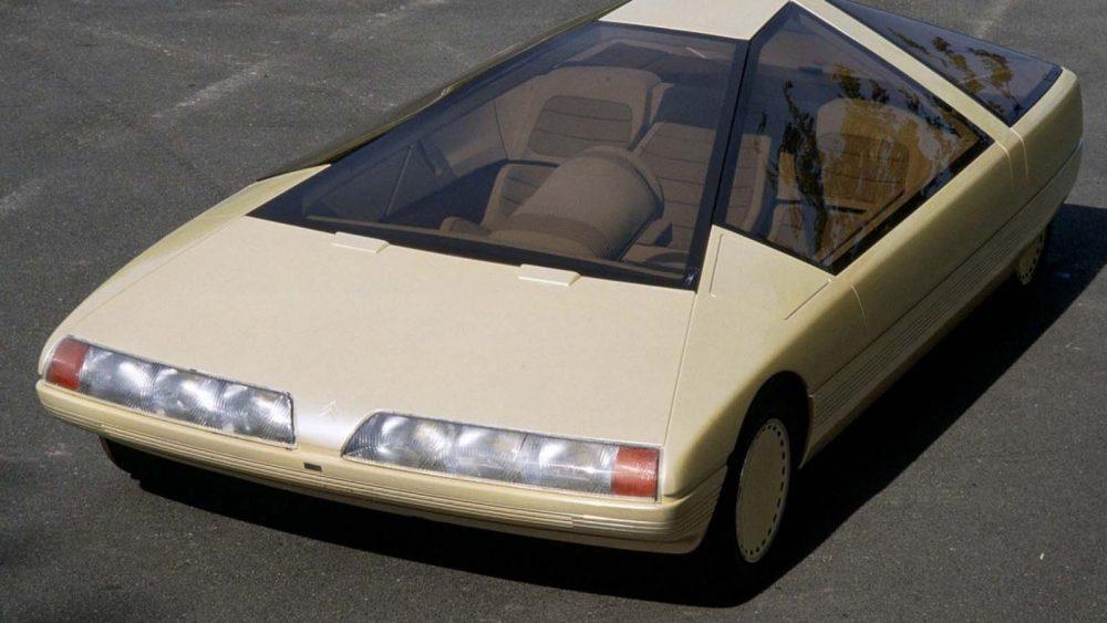 Citroën Karin: el concept francés de 1980 que parecía una pirámide espacial sobre ruedas