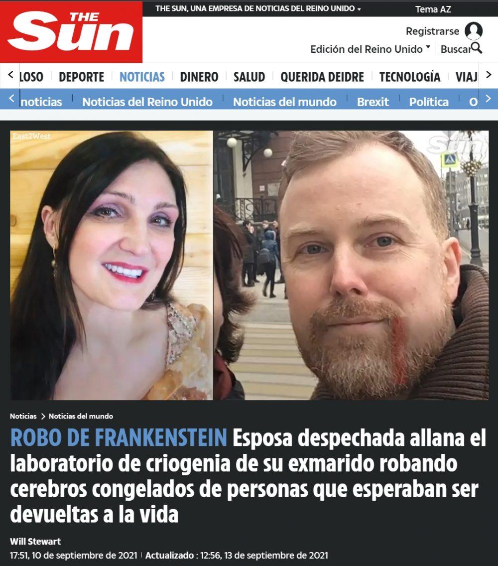 La ex ROBACEREBROS