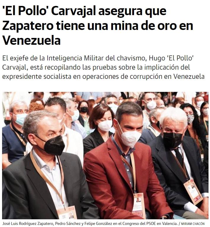 ZP y su supuesta mina de oro en Venezuela