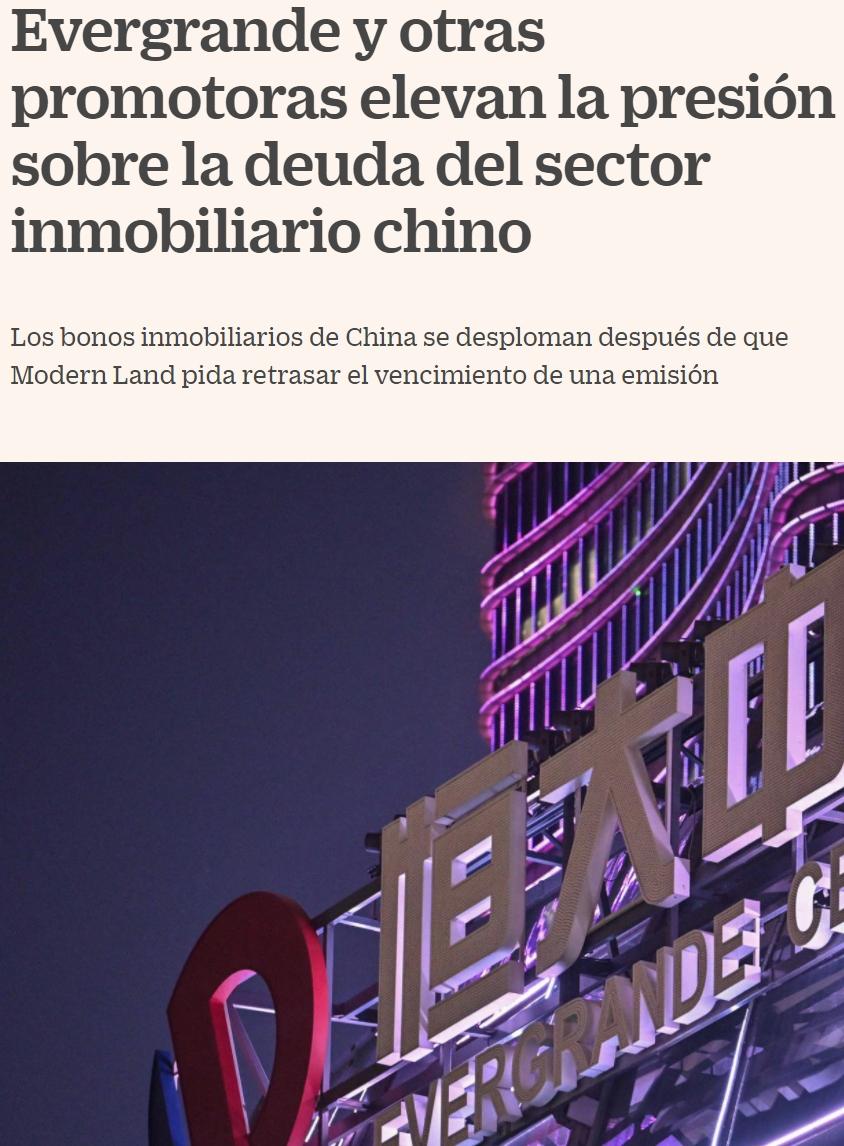 China podría enfrentarse al pinchazo de la mayor burbuja inmobiliaria en su historia