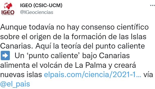 Así se cree que nacieron las Islas Canarias